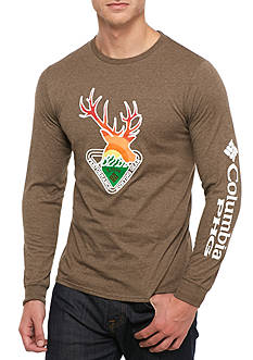 Columbia PHG Smyrna Buck Long Sleeve Graphic Tee
