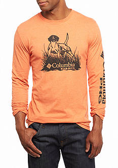 Columbia PHG Long Sleeve Champ Dog Graphic Tee