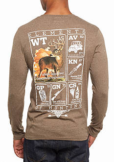 Columbia PHG Elements Whitetail Long Sleeve Graphic Tee