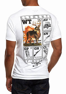 Columbia PHG Short Sleeve Elements Whitetail Graphic Tee