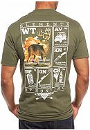 Columbia PHG Short Sleeve Elements Whitetail