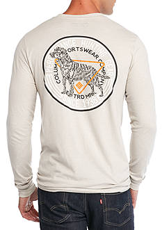 Columbia PHG Trieve Dog Long Sleeve Graphic Tee