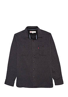 Levi's Long Sleeve Advan Sweater Knit Fleece Shirt
