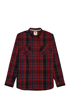 Levi's Long Sleeve Albemarle Flannel Shirt