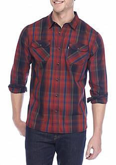 Levi's Long Sleeve Marle Poplin Shirt