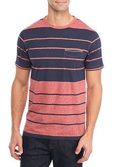 Levi's Short Sleeve Florin Stripe Print Shirt