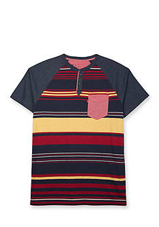Levi's Stripe Printed Snow Jersey Shirt