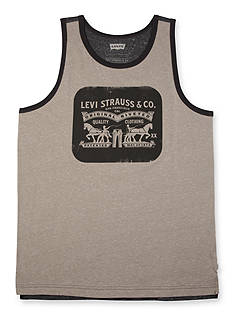 Levi's® Browner Speckled Snow Jersey Tank
