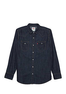 Levi's Long Sleeve Denim Western Shirt