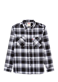 Levi's Long Sleeve Currant Flannel Shirt