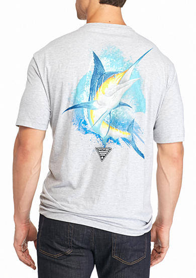 Columbia Big & Tall Great Catch Marlin Graphic Tee