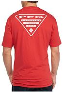 Columbia Big & Tall PFG Triangle Short Sleeve