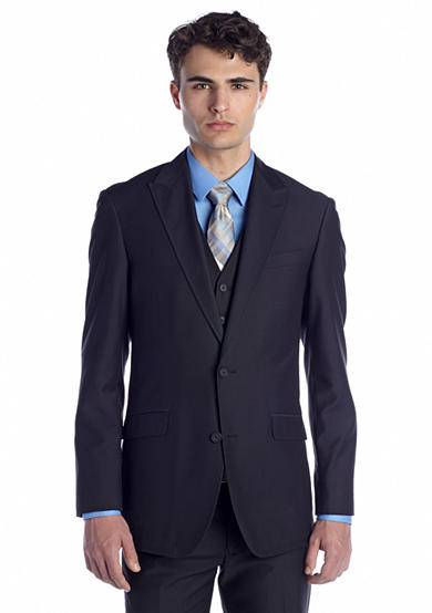 BUFFALO DAVID BITTON® Trim Fit Suit Separate Peak Coat