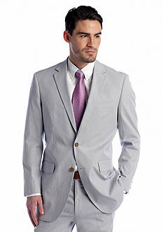 Nautica Classic Fit Blue Pincord Suit Separate Coat