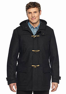 Nautica Big & Tall Wool Blend Toggle Coat
