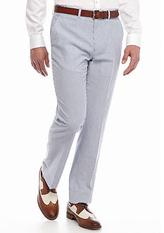 Nautica Classic-Fit Tailored Seersucker Suit Separate Pants