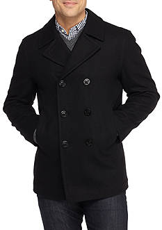 Nautica Traditional Wool Peacoat