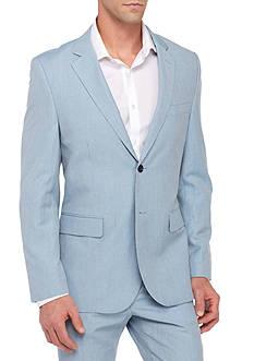 Nautica Classic-Fit Linen Blend Suit Separate Coat