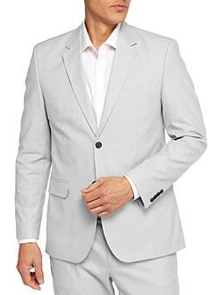 Nautica Modern Fit Pin Cord Suit Separate Coat