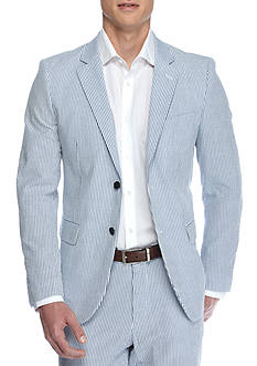 Nautica Modern Fit Seersucker Suit Separate Coat