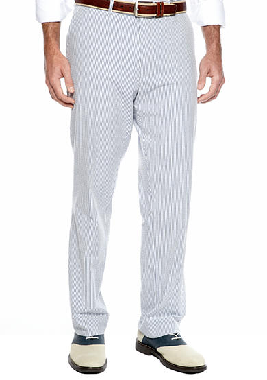 Nautica Classic Fit Seersucker Suit Separate Pants