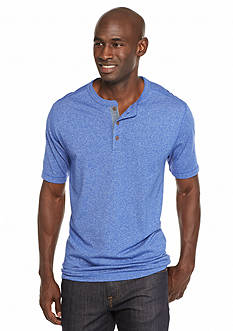 Ocean & Coast® Short Sleeve Jasper Henley Shirt