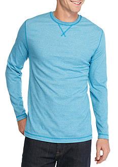 Ocean & Coast Long Sleeve Jaspe Crew Neck Shirt