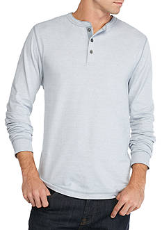 Ocean & Coast Long Sleeve Jaspe Henley Shirt