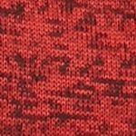 Sports Hoodies for Men: Kyoto Rust/Black Fleece Mock Neck Sweater