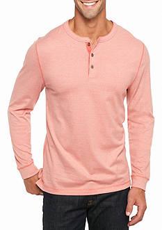 Ocean & Coast Long Sleeve Jaspe Henley Shirt