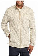 Ocean & Coast® Full Zip Fleece Sweater