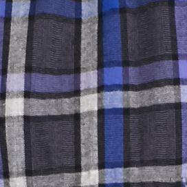 Outdoor: Casual Shirts: Deep Grape Long Sleeve Brushed Twill Plaid Shirt