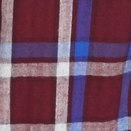 Outdoor: Casual Shirts: Vixen Plum Long Sleeve Brushed Twill Plaid Shirt