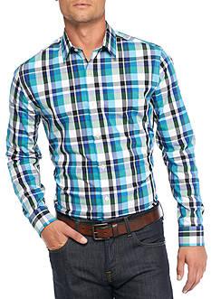 Saddlebred 1888 Long Sleeve Non Iron Plaid Shirt