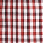 St Patricks Day Outfits For Men: Red Saddlebred 1888 Long Sleeve Mini Gingham Non-Iron Shirt