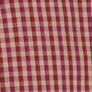 St Patricks Day Outfits For Men: Plum Wine Saddlebred 1888 Long Sleeve Mini Gingham Non-Iron Shirt