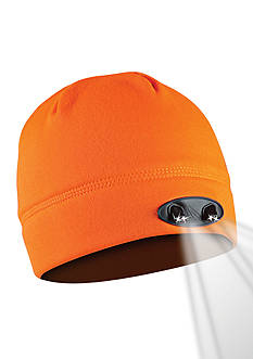 Panther Vision 4 LED Blaze Orange Compression Fleece Beanie