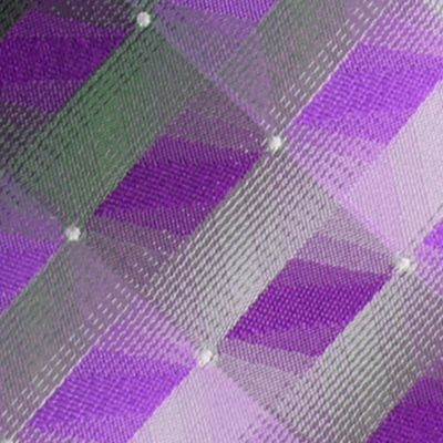 Van Heusen Men Sale: Purple Van Heusen 3D Geo Tie