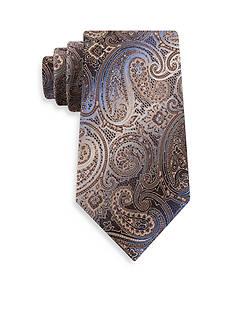 Van Heusen Textured Paisley Tie