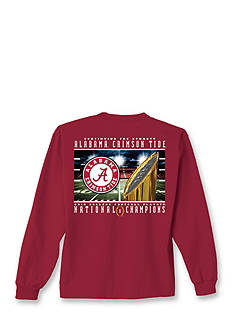 New World Graphics Long Sleeve Alabama Crimson Tide National Championship Graphic Tee