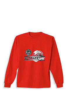 New World Graphics North Carolina State Belk Bowl 2015 Long Sleeve Graphic Tee