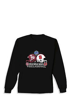 New World Graphics Mississippi State vs. NC State Belk Bowl 2015 Long Sleeve Graphic Tee
