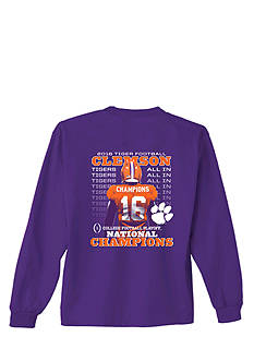 New World Graphics Clemson Tigers 2016 National Champions Graphic Tee