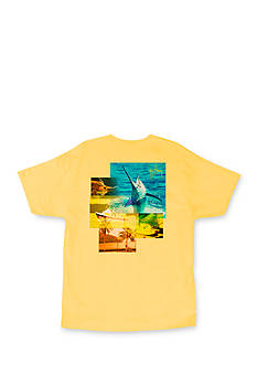 Guy Harvey® Short Sleeve Tropical Star Graphic Tee