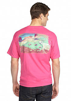Guy Harvey® Short Sleeve Stingray City Graphic Tee