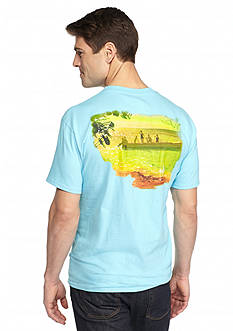 Guy Harvey® Short Sleeve Back In The Day Graphic Tee