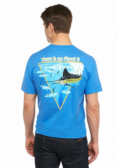 Guy Harvey® Short Sleeve 'Planet B' Graphic Tee