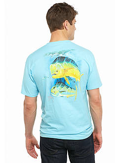 Guy Harvey® Short Sleeve Two Bulls Graphic Tee
