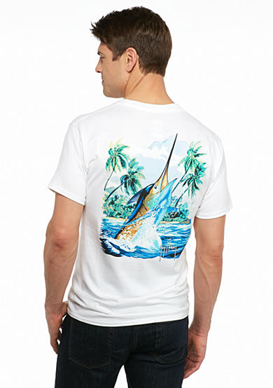 Guy Harvey® Short Sleeve Island Competition Graphic Tee