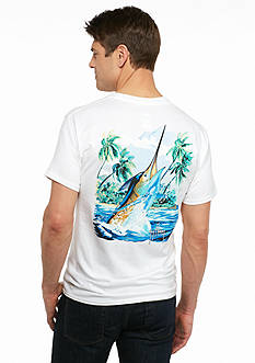 Guy Harvey Short Sleeve Island Competition Graphic Tee